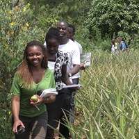 Students in Africa