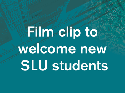 Film clip to welcome new SLU students